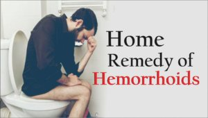 Home remedy of hemorrhoids