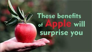 These benefits of apple will surprise you