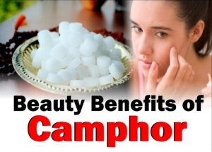 Get Rid of pimples & scars with camphor and more beauty tips
