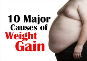 10 Major Causes of Weight Gain-health care