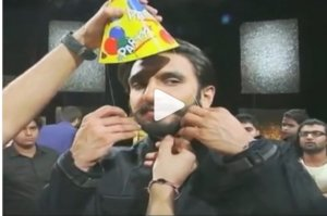 Checkout…How Ranveer Singh has celebrated his Birthday