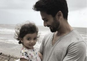 Shahid Kapoor having fun with Daughter Misha Kapoor
