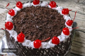 Black Forest Cake Without Oven at Home for Special occasion