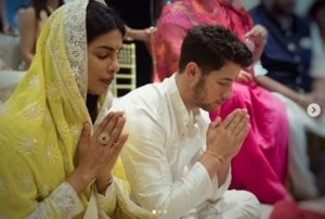 Nick Jonas finally bowled by Priyanka Chopra