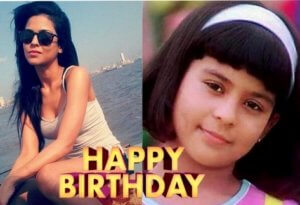 """Kuch Kuch Hota hai"" Anjali  Sana Saeed Birthday Today"