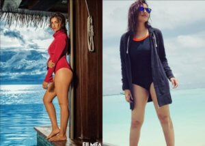 Parineeti Chopra Hot Looks Set Fire in Water : See Photos