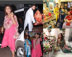 Ganesh chaturthi Celebration in Bollywood