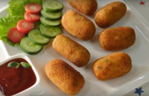 Homemade Veg Cottage Cheese Croquettes Recipe