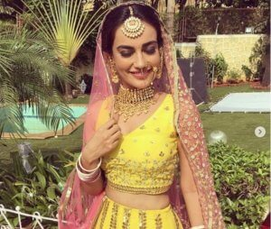 Traditional Outfit of Naagin 3 Actress Surbhi Jyoti
