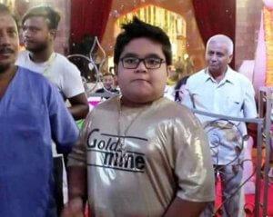 Bappi Lahiri's Grandson Plays Drum in 'Golden Look' : See Video