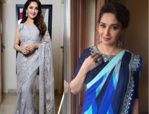 Madhuri Dixit Best Designer Saree collection