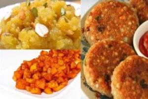 Navratri Fast Special 4 Dishes Recipe