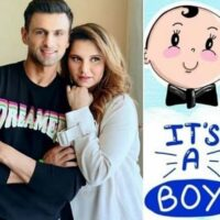 Sania Mirza & Shoaib Malik have been Blessed with a Baby Boy