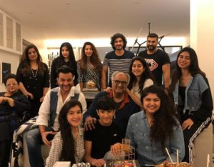 Kapoor family celebrates Boney Kapoor's 63rd birthday