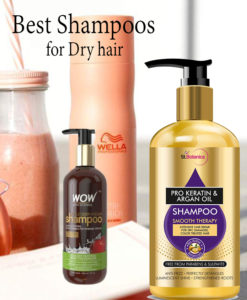 5 Best Shampoos for Dry hair that will Moisturize and Soften your Hair