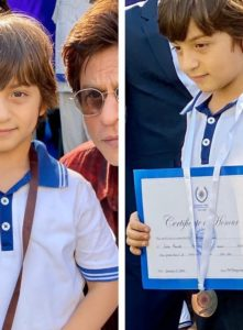 AbRam Making King Khan Proud in RACE