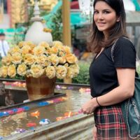 Sunny Leone Shared Photos of Thailand Trip with Husband